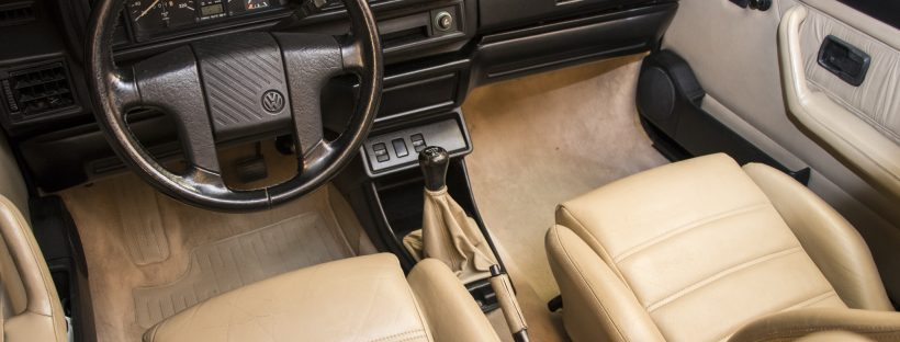Teppich reinigen Golf 1 Cabrio